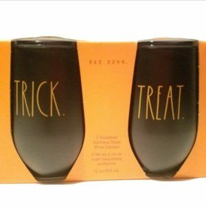 Rae Dunn Trick and Treat Insulated Wine Glasses